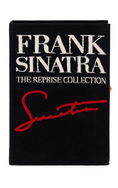 Frank Sinatra Signature Book Clutch
