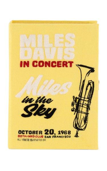Miles Davis Book Clutch