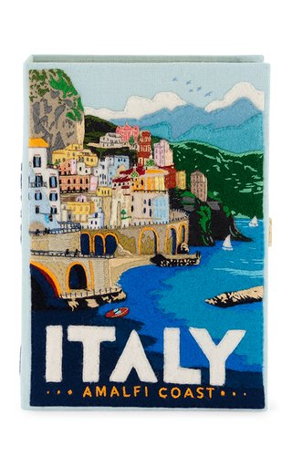 Amalfi Coast Book Clutch