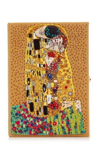 The Kiss Klimt Canelle Book Clutch