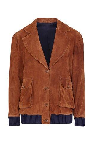 The Giacaranda Suede Jacket