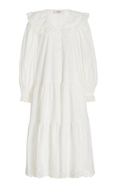 Patrizia Cotton Midi Shirt Dress