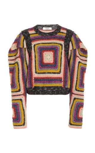 Bette Merino Wool and Linen-Blend Sweater