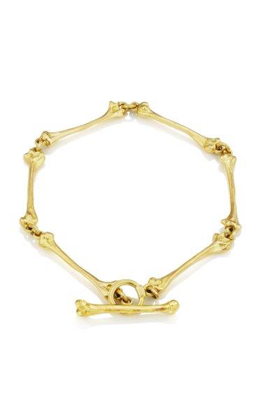 Golden Bone 18K Yellow Gold Bracelet