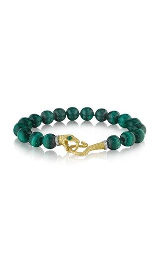 Serpent 18K Yellow Gold Multi-Stone Bracelet