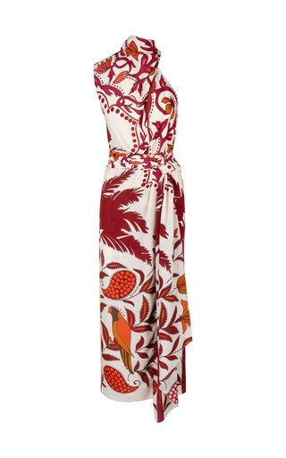 Paint The Town Printed Midi Dress
