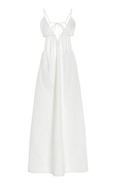Wonderer Cotton-Blend Maxi Dress