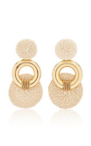 Ottoman Princess Gold-Plated Palm Earrings