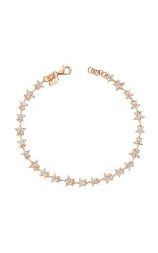 Milky Way 14K Yellow Gold Diamond Bracelet