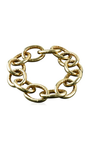 Blecher Tiger 14K Yellow Gold Chain Necklace