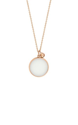 Ever 18K Rose Gold Agate Necklace