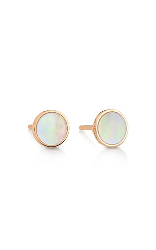 Ever 18K Rose Gold Mother-Of-Pearl Earrings