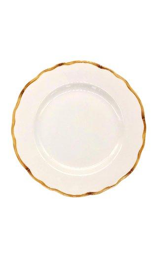 Bamboo Border Dinner Plate