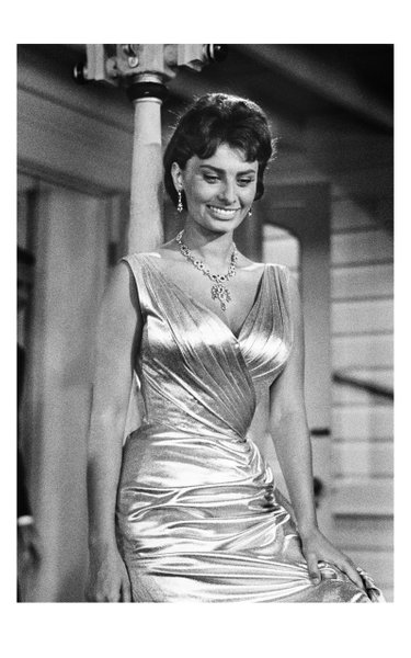 Limited Edition, 1957 - Sophia Loren, On The Set Of Houseboat, Print