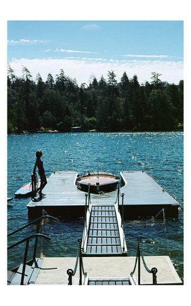 Limited Edition, 1956- Lake Arrowhead, Boat, California, Print