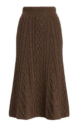 Tweed Sweater Skirt
