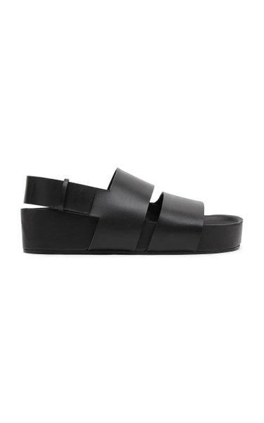 Double Strap Platform Sandals