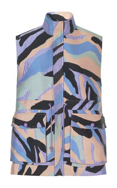Didi Printed Outerwear Vest