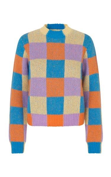Zinnie Cotton-Blend Sweater