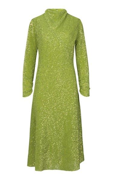 Alana Sequin Midi Dress