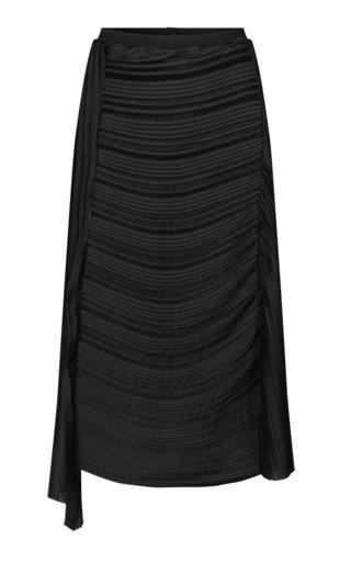 Bon Ruched Midi Skirt