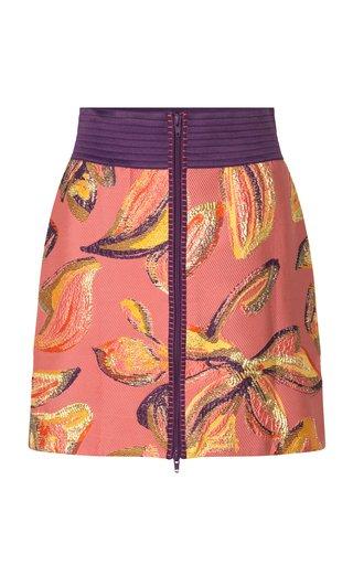 Pim Jacquard Mini Skirt