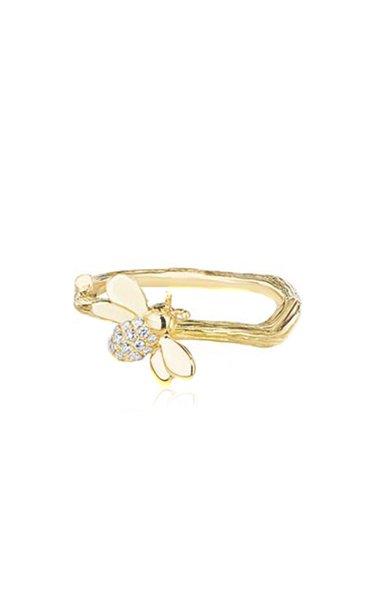 Wonderland 18K Gold Diamond Ring