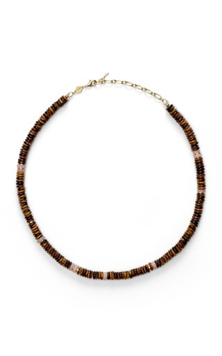 Eye of the Tiger Pearl Necklace
