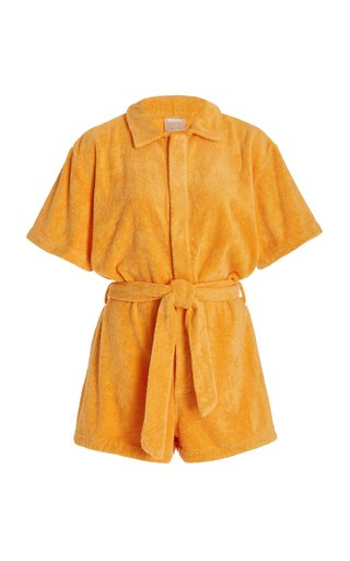 Il Pareo Cotton-Terry Playsuit
