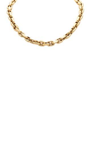 14K Yellow Gold Jumbo Hardware Necklace