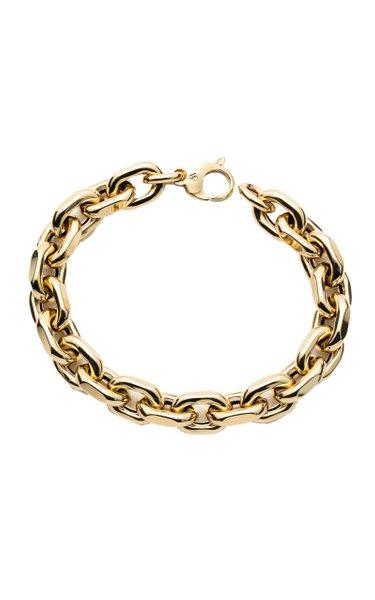 14K Yellow Gold Jumbo Hardware Bracelet