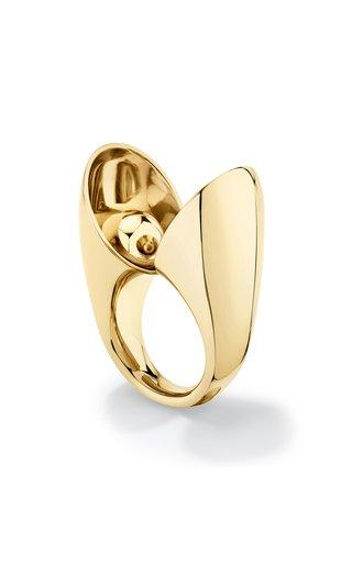 18K Yellow Gold Echo Eon Ring