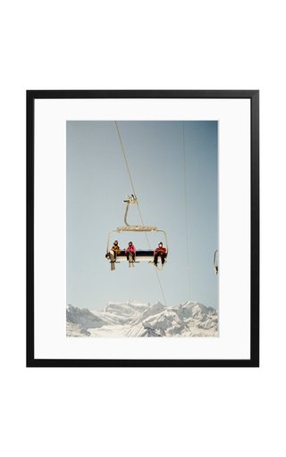 Verbier Bliss Framed Photography Print