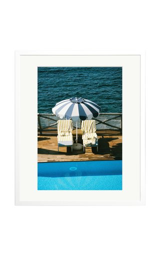 Lounging at Mezzatorre Framed Photography Print