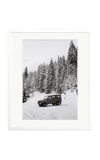 White Day Framed Photography Print