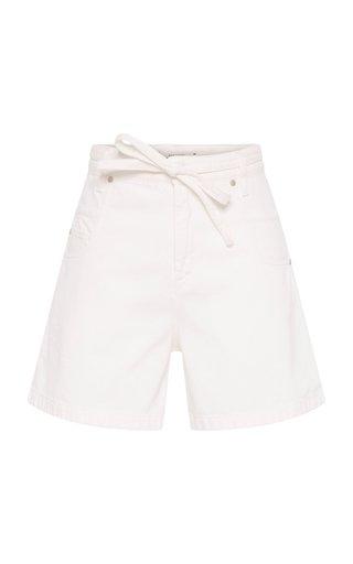 Denim Attraction Belted Shorts
