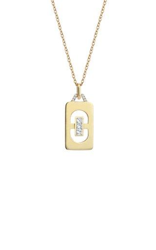 Loa 14K Yellow Gold Diamond Necklace