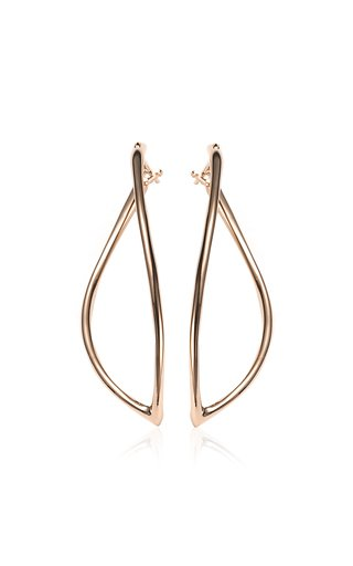 Navettes 18K Rose Gold Earrings