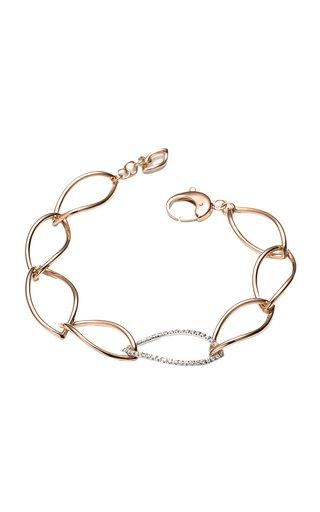 Navettes 18K Rose Gold Diamond Bracelet