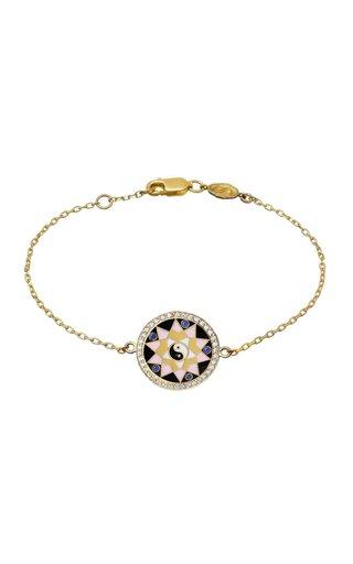 18K Yellow Gold Health Bracelet