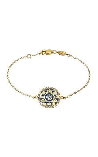 18K Yellow Gold Protection Bracelet
