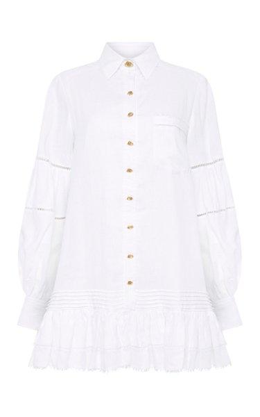 Lotus Shirt Dress