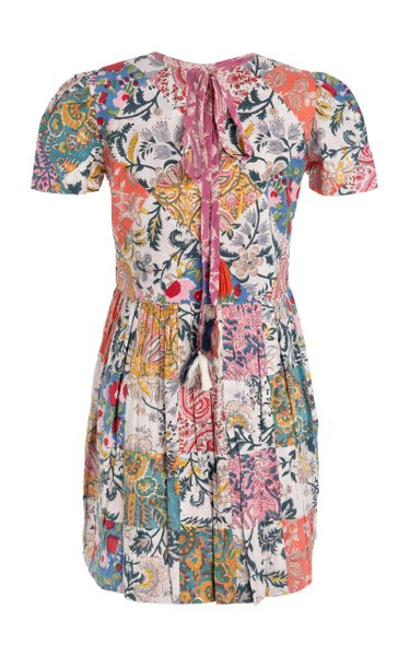 Mila Patchwork Mini Dress
