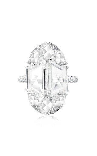 The Portrait 18K White Gold Diamond Ring