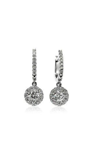Fulfillment 18K White Gold Diamond Earrings