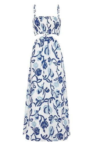 Tayari Linen Midi Dress
