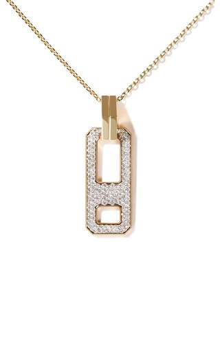 DNA 18K Yellow Gold Diamond Necklace