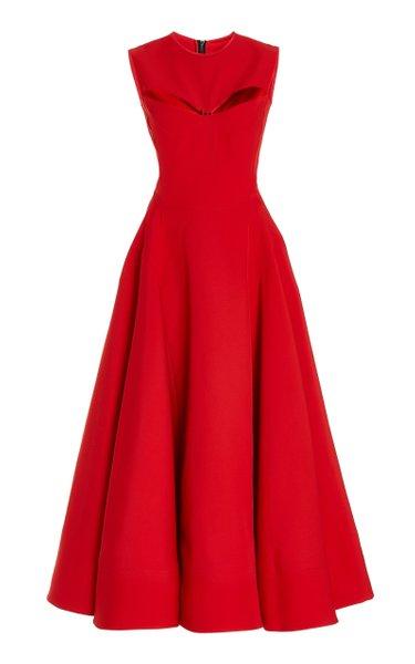 Restless Sleeveless Cut Out Maxi Dress