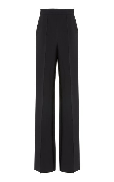 Afterword Pintuck Straight-Leg Stretch Pant