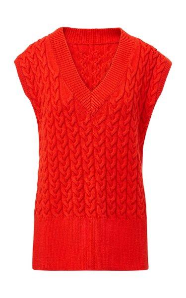 The Cable Knit Vest